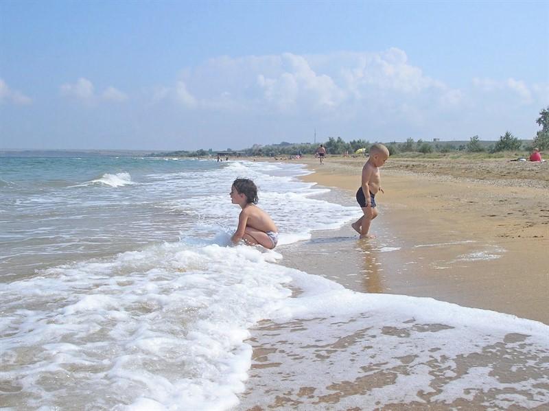 Отдых в Новоотрадном на Азовском море